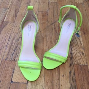 Electric green Prabal Gurung heels